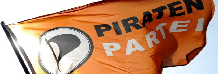Flagge: Piratenpartei