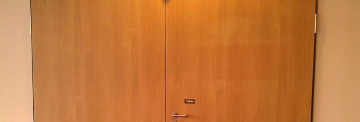 Verschlossene Türen im Leverkusener Rathaus