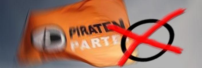 Wahlen: Kreuz bei der Piratenpartei