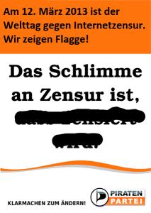 Das Schlimme an Zensur ist.. (Katta, CC BY-SA 3.0)