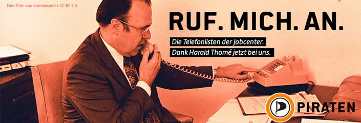 Ruf. Mich. An. Die Telefonlisten der Jobcenter. (Foto: flickr user starmanseries CC BY 2.0)