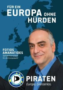 Fotios Amanatides - Spitzenkandidat für die Europawahl