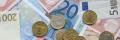 Euro-Münzen und Banknoten (public domain)