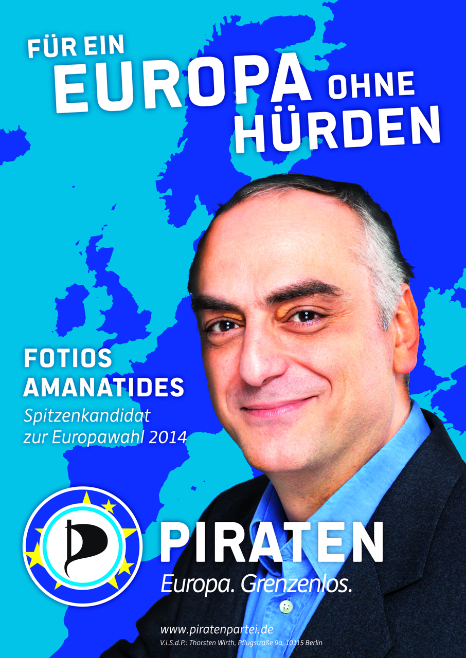 Für ein Europa ohne Hürden - Fotios Amanatides