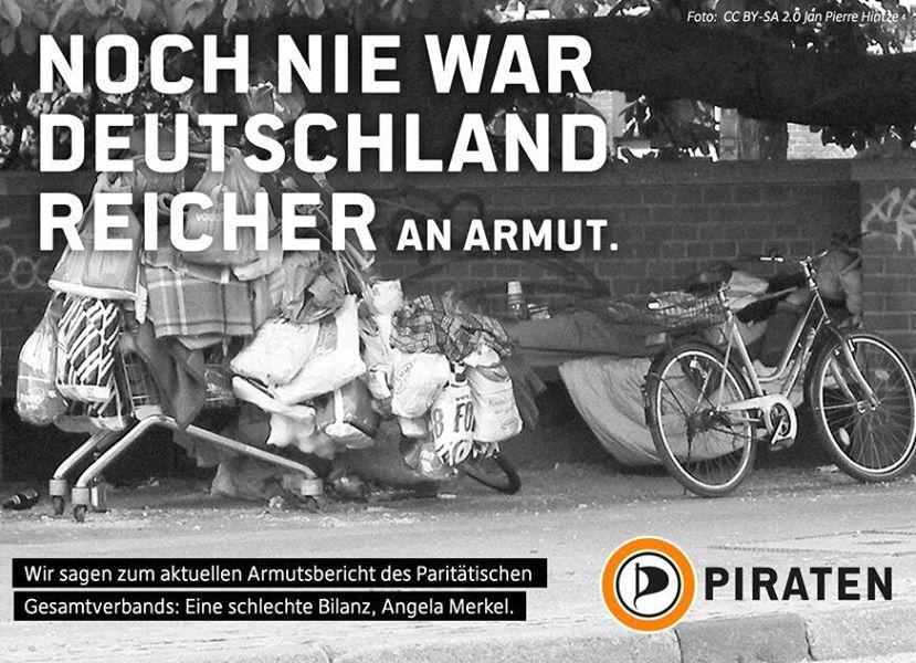 Noch nie war Deutschland reicher an Armut