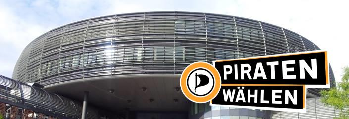 Rathaus Leverkusen - Piraten wählen!