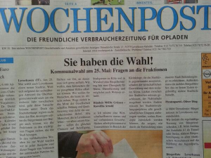 Wochenpost KW 18/2014