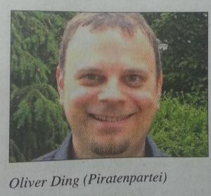 Oliver Ding: Foto in der Wochenpost
