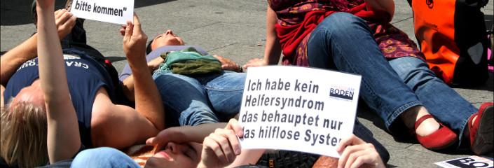 Ich habe kein Helfersyndrom, das behauptet nur das hilfslose System