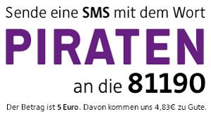 Spende per SMS