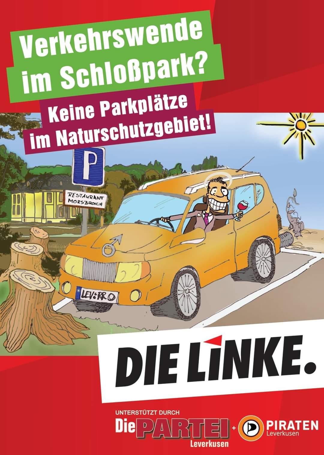 Verkehrswende im Schlosspark